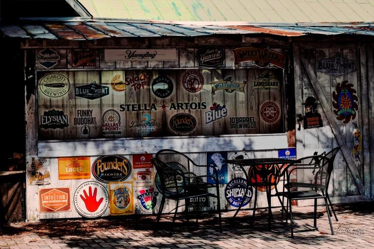 Cafe DaVinci Bar Courtyard