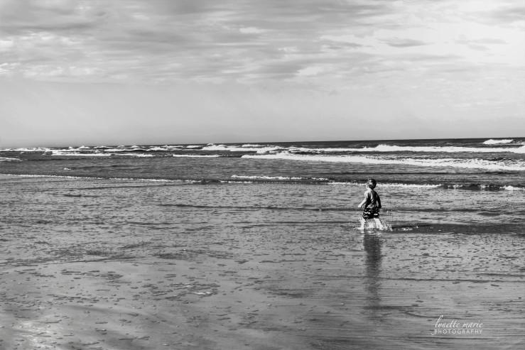 Little Boy Big Ocean