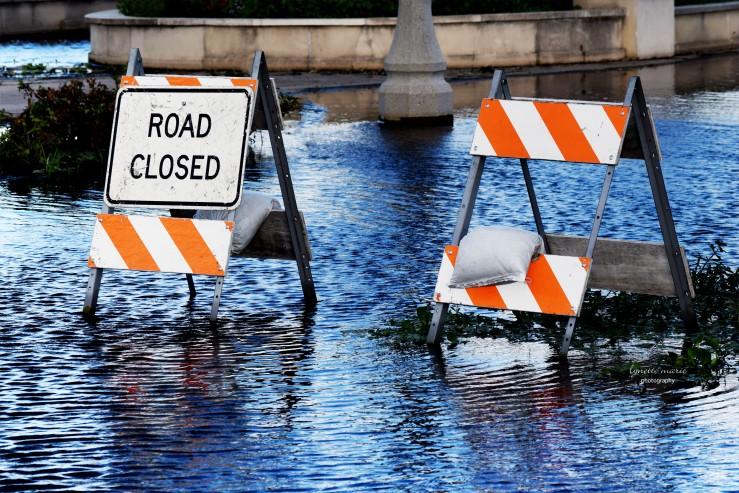 Road Closed {Riverwalk Sanford post Hurricane Irma}
