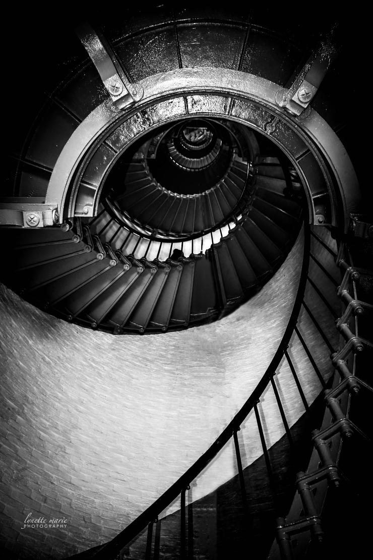 Looking Down 203 Steps