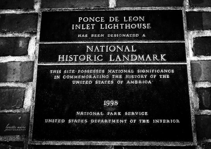 Ponce Inlet Lighthouse Historical Marker